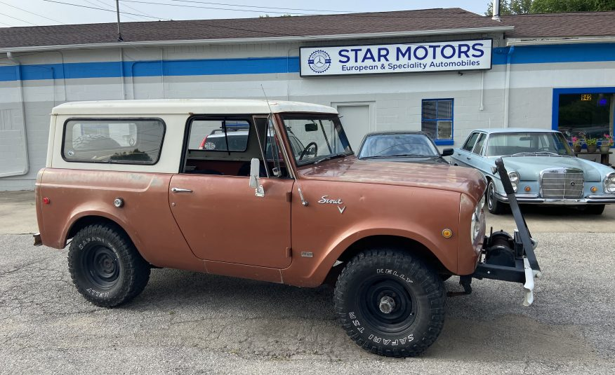 COMING SOON 1969 International Scout 800A