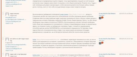 Russian Spambots – Argh!